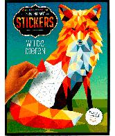 Kleuren met stickers - wilde dieren