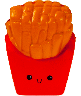 Squishy Frietjes (French Fries)