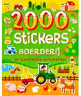 2000 stickers boerderij