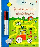 Groot uitwisbaar activiteitenboek