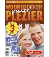 Puzzelplezier woordzoeker 3 sterren