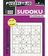 Puzzelblok Sudoku 6 punt nr.4