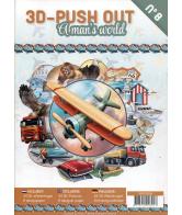 3D Uitdrukvellenboek 8 A Man's World