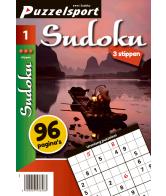 Puzzelmagazine Sudoku 3 stippen nr.1