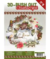 3D Uitdrukvellenboek 9 Christmas Spirit