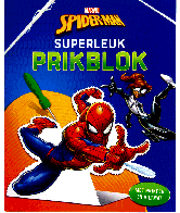 Spiderman superleuk prikblok