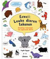 Kawaii leuke dieren tekenen