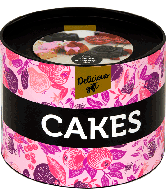 Delicious gift - Cakes trommeltje