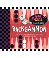 Mini Magneetspellen Backgammon