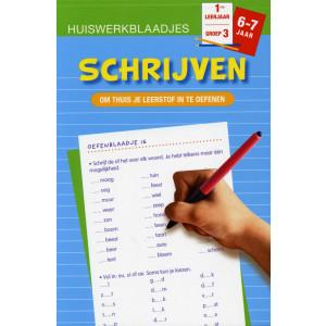 Huiswerkblaadjes 6 tot 7 Jaar Schrijven
