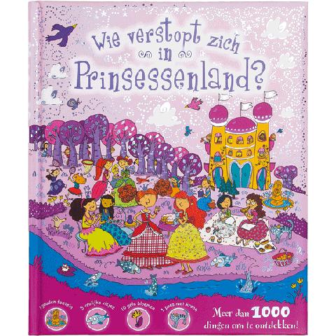 Wie verstopt zich in Prinsessenland?